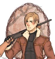 Leon Print by CarriedOff
