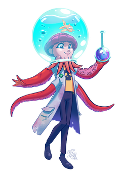 Fanart - Dr. Puzz by IntroducingEmy