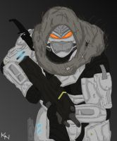 Halo Reach Hayabusa by kennuhisaki
