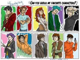 my favorite characters by burdge