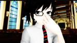 [MMD x ANE] Middle First Class Exorcist by judai-yuuki
