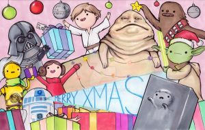 May the Presents Be With You by arseniic