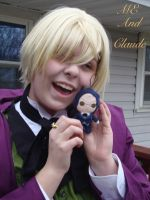 Alois and chibi claude by rinweb