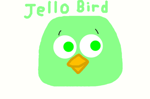 Angry Birds - Jello Bird by worldofcaitlyn