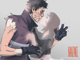 Obito x Rin by kanzzzaki