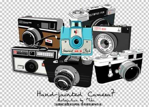 hand_painted camera7 by mikakjj