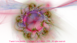 Faerie's Love Bubble (white version) by Faedou