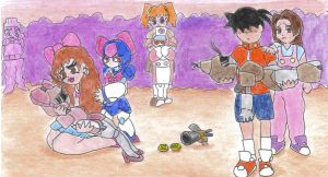 Robattle9 by LadyBee-Moy