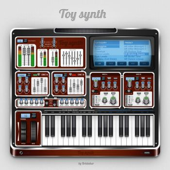 Toy Synth by briztaker
