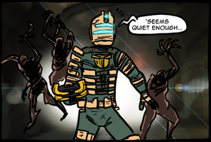 Dead Space 1 by theEyZmaster