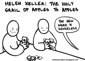 Apples to Apples by endlessorigami