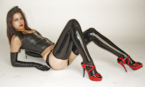 Rubber Doll by ladiespet