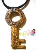 Key Necklace by colourful-blossom