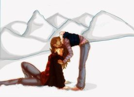 Zutara : Spiderman Kiss by trishna87