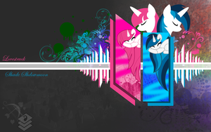 Shade and Lovestruck Wallpaper by BronyXceed