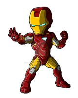 Chibi Movie Iron Man Mk 6 by GuyverC