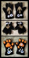 Big Cat Paws by The-Demon-Ferret