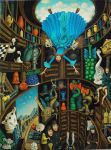 Alice down the rabbit hole by MillerTanya