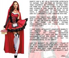 Halloween Countdown - Sexy Red Riding Hood by leila-stoat