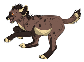 Hyena OC by SecretsSecret