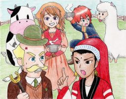 Harvest Moon: Tale of Two Towns Cook-Off by HanariBlue