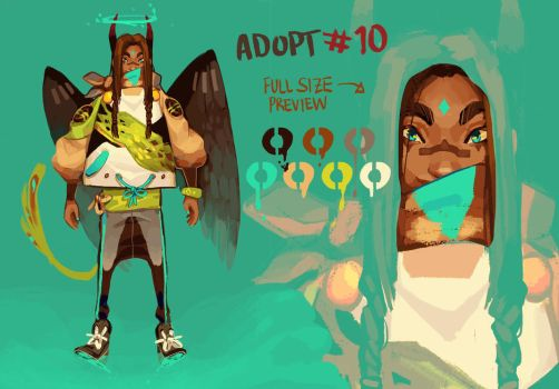 [closed] Adopt #10 - AUCTION by HJeojeo