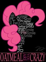Pinkie Pie Typography by EhKanadian1