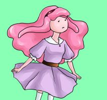Princess Bubblegum by SashaAlice