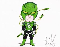 Green Lantern Daredevil by toonartist