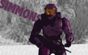 RvB Simmons by DanTherrien101