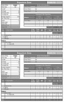 Galactic Conquest Data Sheet by msgamedevelopment