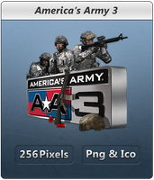 Americas Army 3 - Icon by Crussong