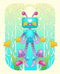 Tutorial: Art Nouveau Bitty Love Bot in CorelDRAW by marywinkler