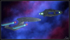 Romulan Negotiations, Act 2 by celticarchie