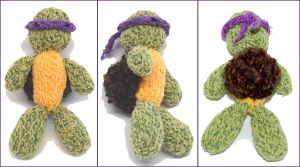 Donatello goes Knit by Rainya