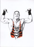 WWE Rob Van Dam by RadPencils