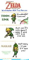 Zelda Meme: WW style by melondream