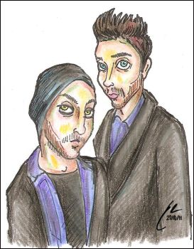 30STM Playing Cards (Art) - Brothers Leto 01 by omgwtflols