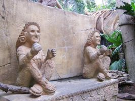 Inca Statues1 by effing-stock