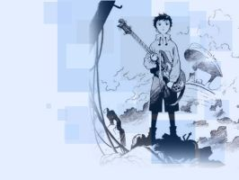 FLCL Wallpaper by bluetom
