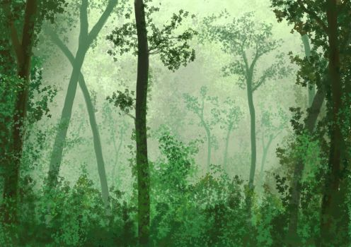 Tropical forest by lauris71