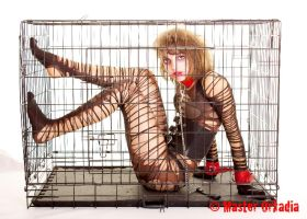 Caged Animal by GagaAlienQueen