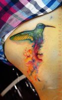 humming bird by Benjamin Otero by needtobleed