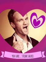 How I Met Your Mother Valentines: Barney by ooolalina
