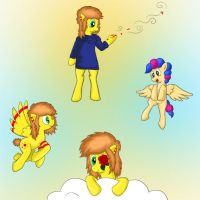 Sun Feather and Grace Bell by Ashby10