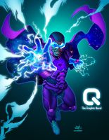 Q: the Grapgic Novel on Kickstarter by 133art