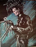edward scissorhands by cliford417