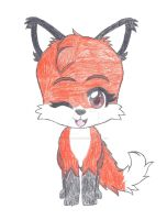 Cuttie Loxy Fox by ShadowBonadow