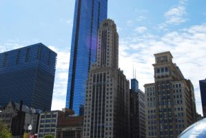 chicago buildings by Wookie92