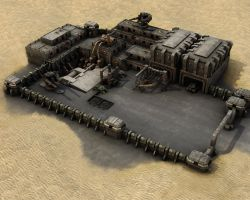 Military Desert Outpost MK1 by eRe4s3r